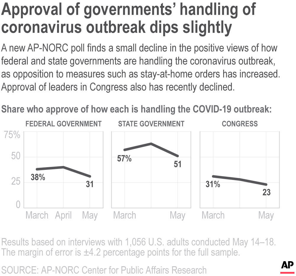 AP Poll Government Approval