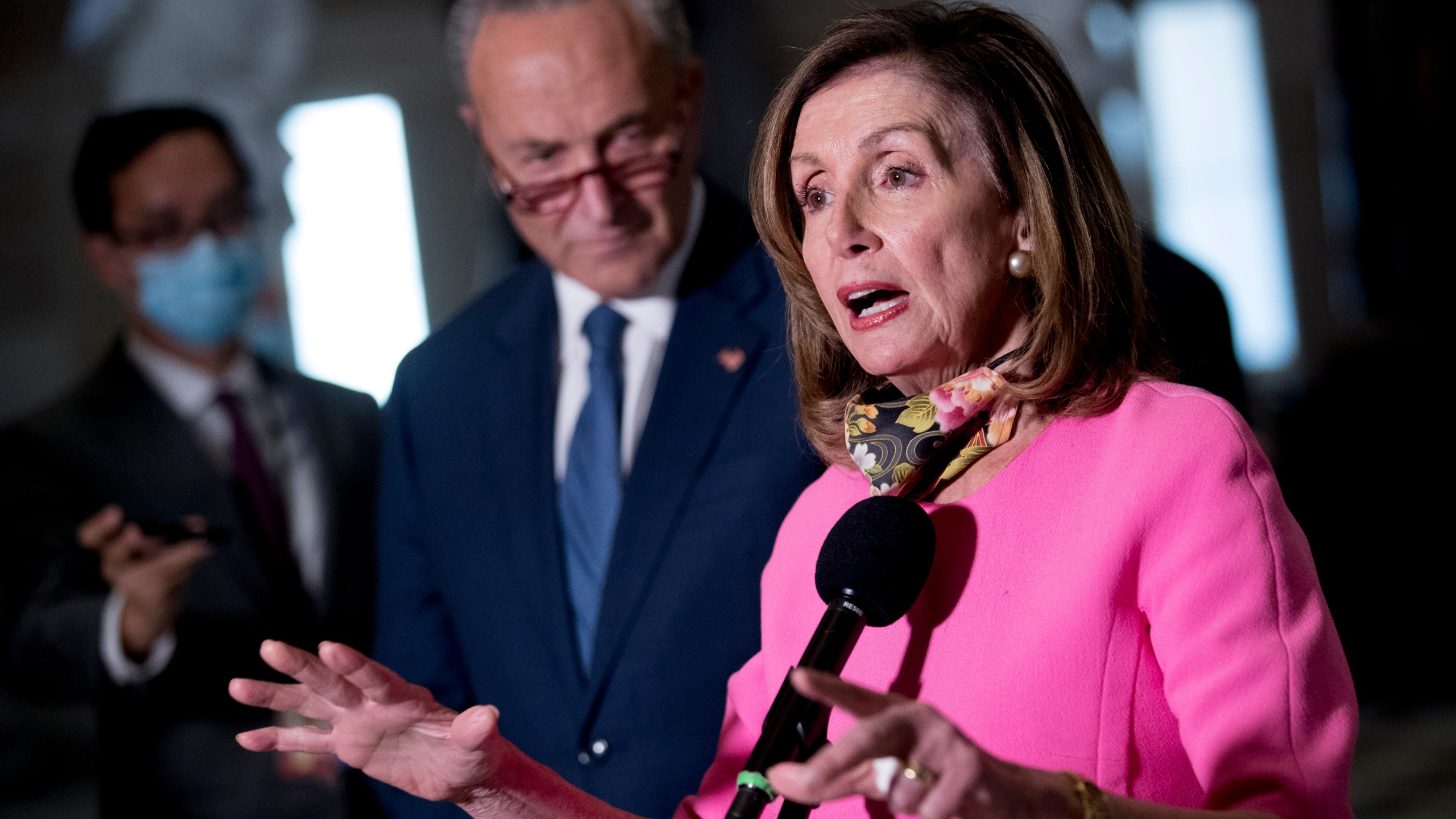 Chuck Schumer, Nancy Pelosi