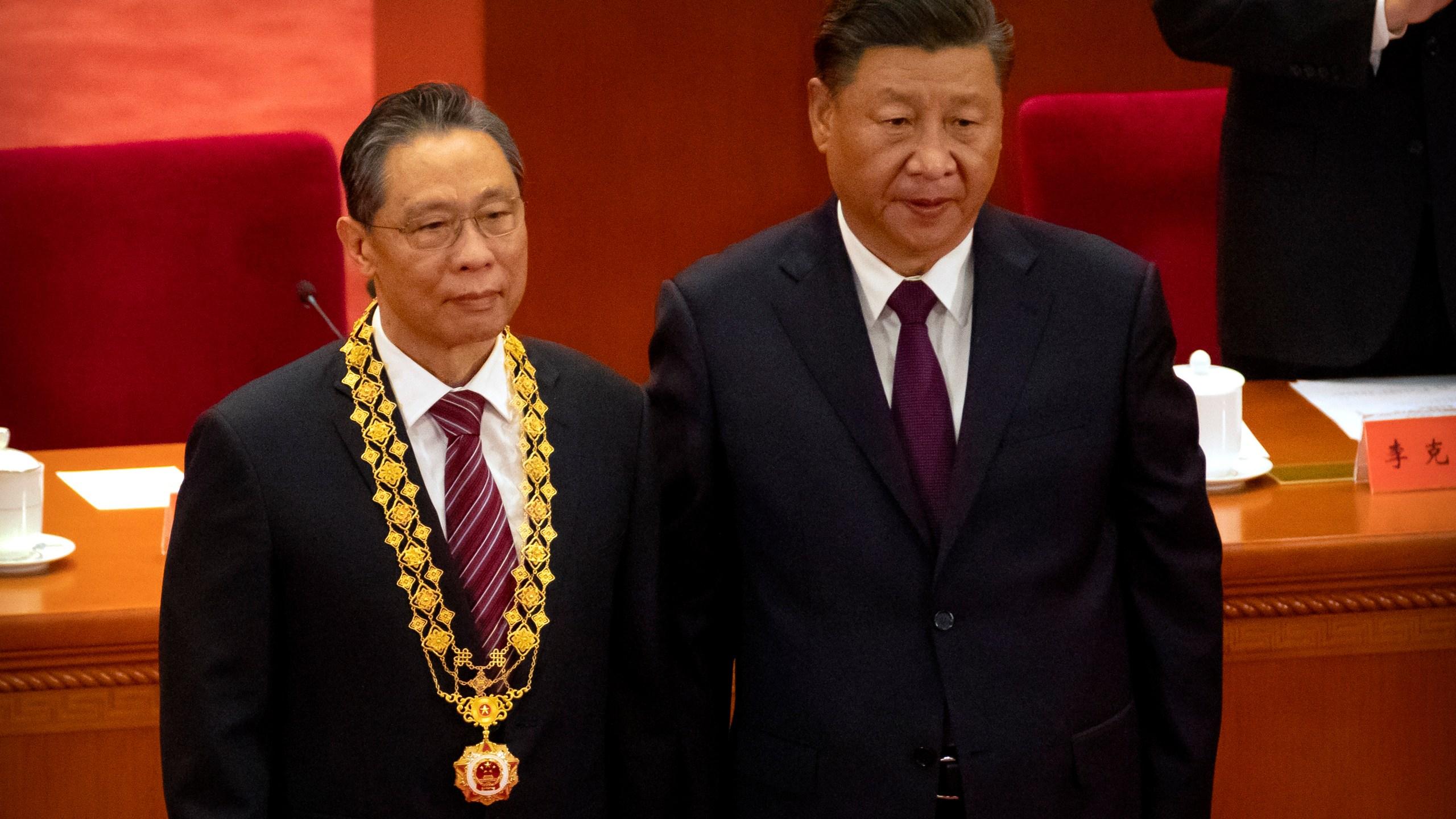 Xi Jinping, Zhong Nanshan