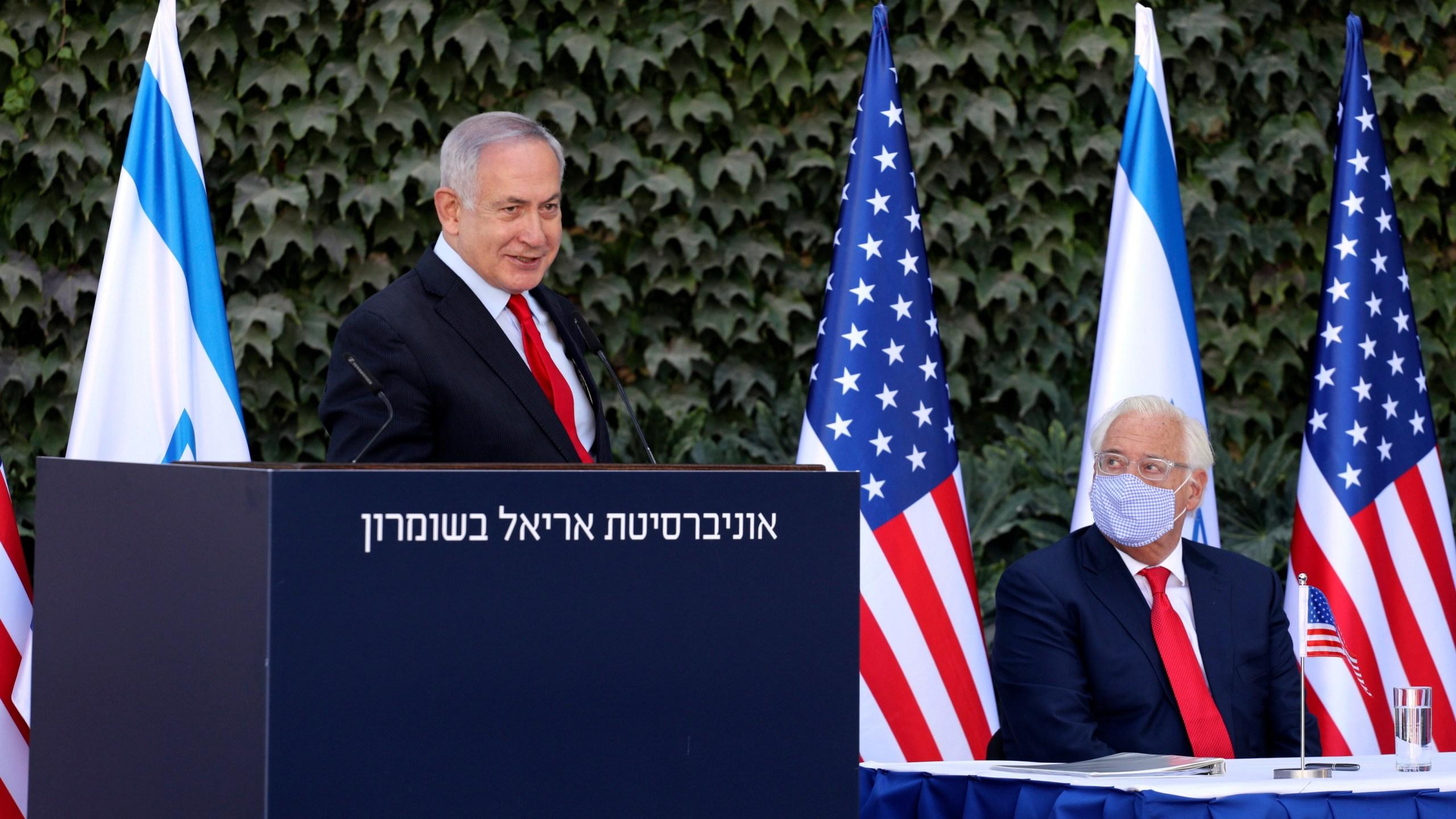 Benjamin Netanyahu, David Friedman