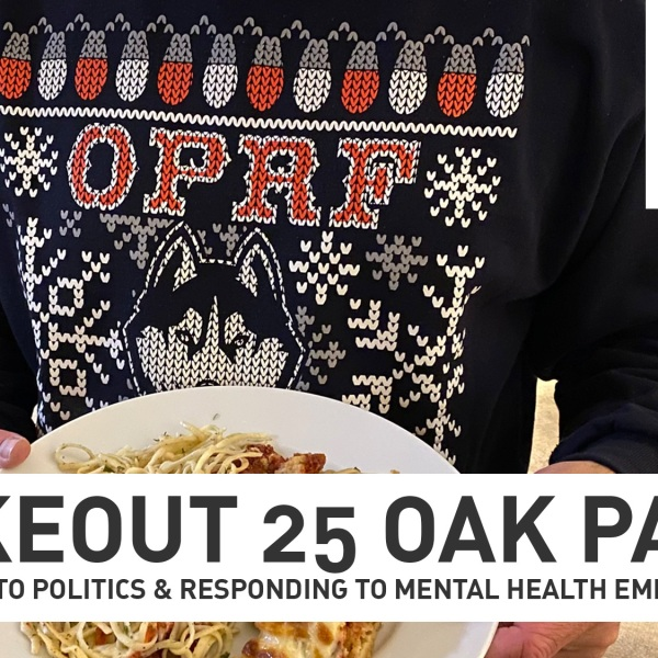 Takeout 25 Oak Park offers some food inspiration while promoting local restaurants..