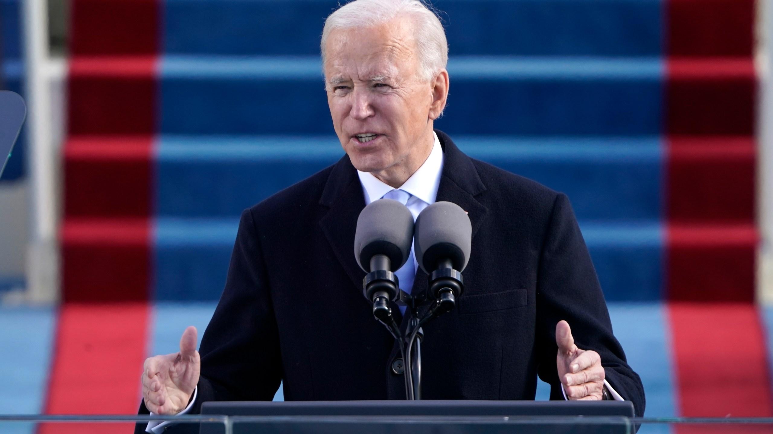 Image result for joe biden inauguration