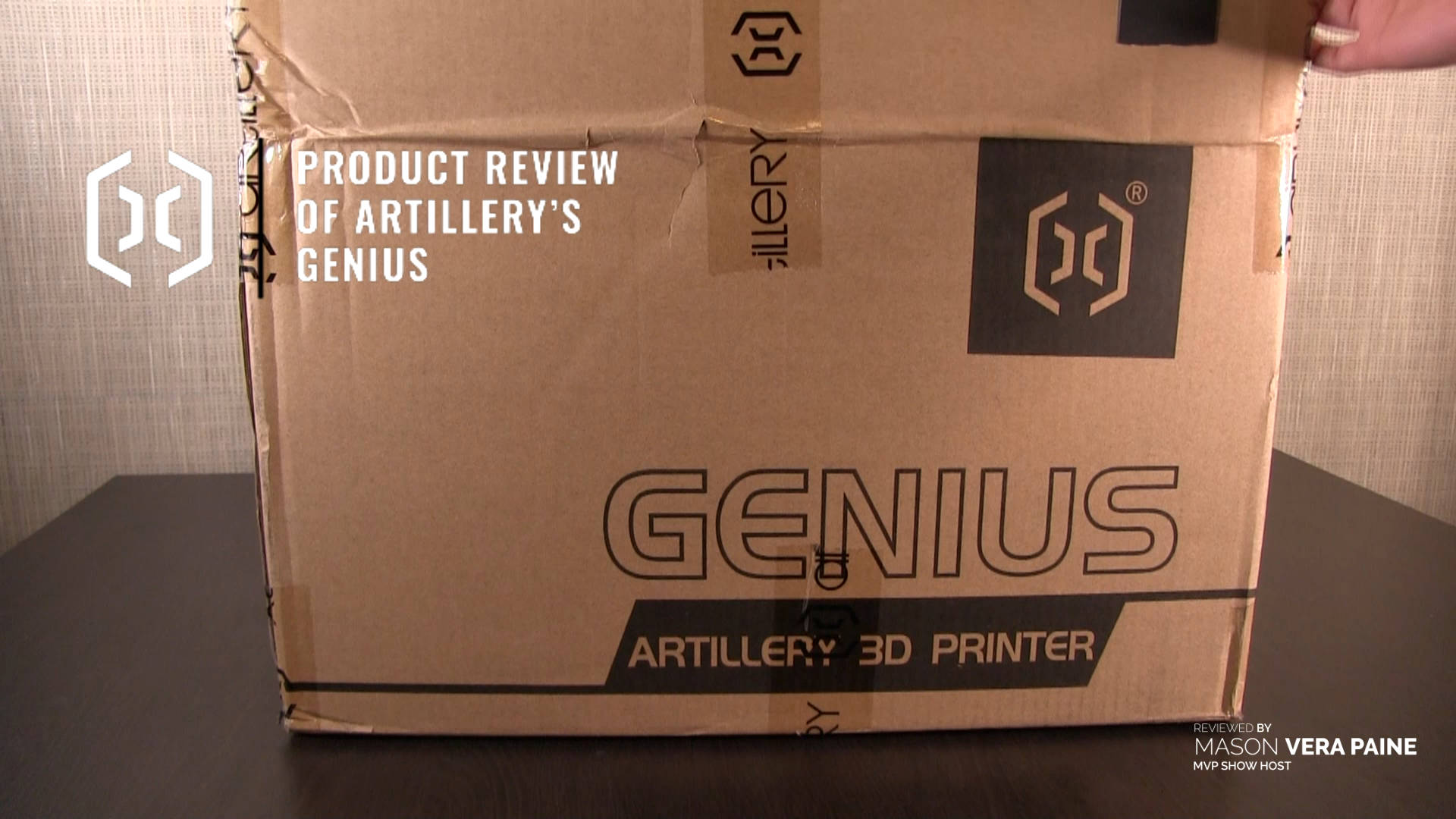 Artillery Genius 3D printer, Artillery Genius 3D printer review, Filament, Three-dimensional Technology, Artillery Genius Printer, 3D printer price, best 3D printer, Artillery Genius 3D, Genius Artillery, Artillery Genius test, Mason Paine, MVP Show, Team MVP, Millennial, Unabridged Millennial
