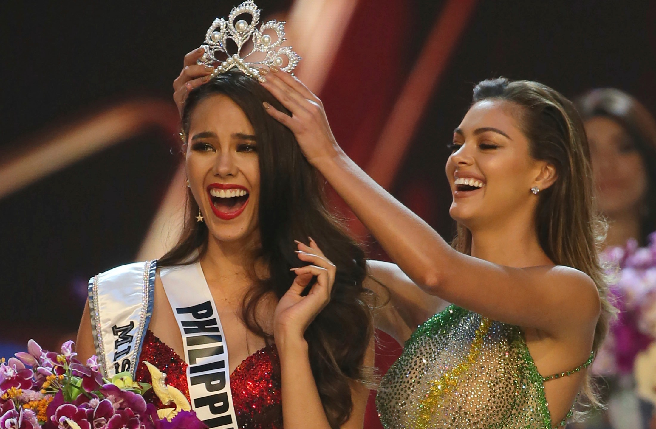 Catriona Gray, Tamaryn Green