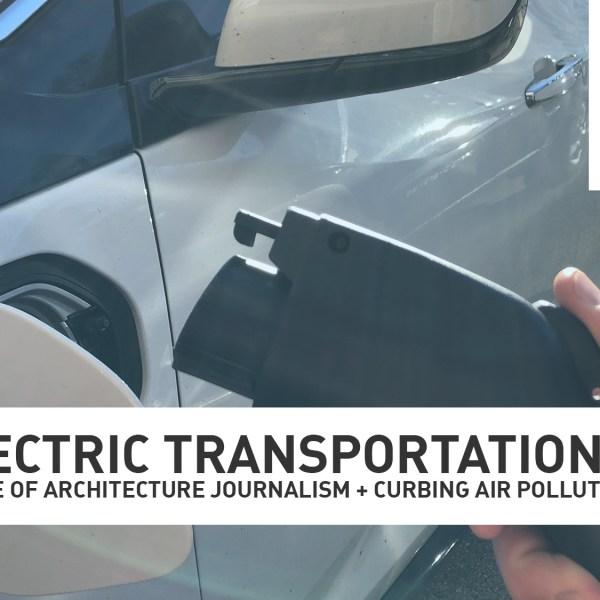 Electric transportation. (Photo courtesy of Collin Seaman/WGN Radio)