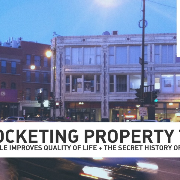 Property taxes in Wicker Park are high! (Photo: Mike Stephen/WGN Radio)