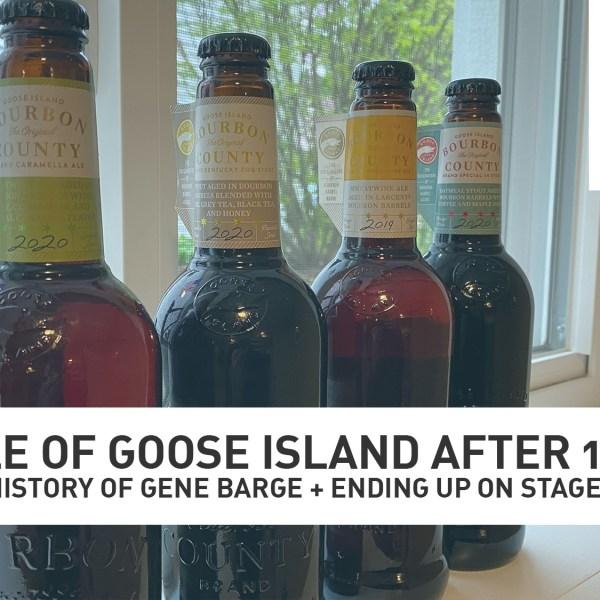 Goose Island's Bourbon County Stout army. (Photo Credit: Mike Stephen/WGN Radio)
