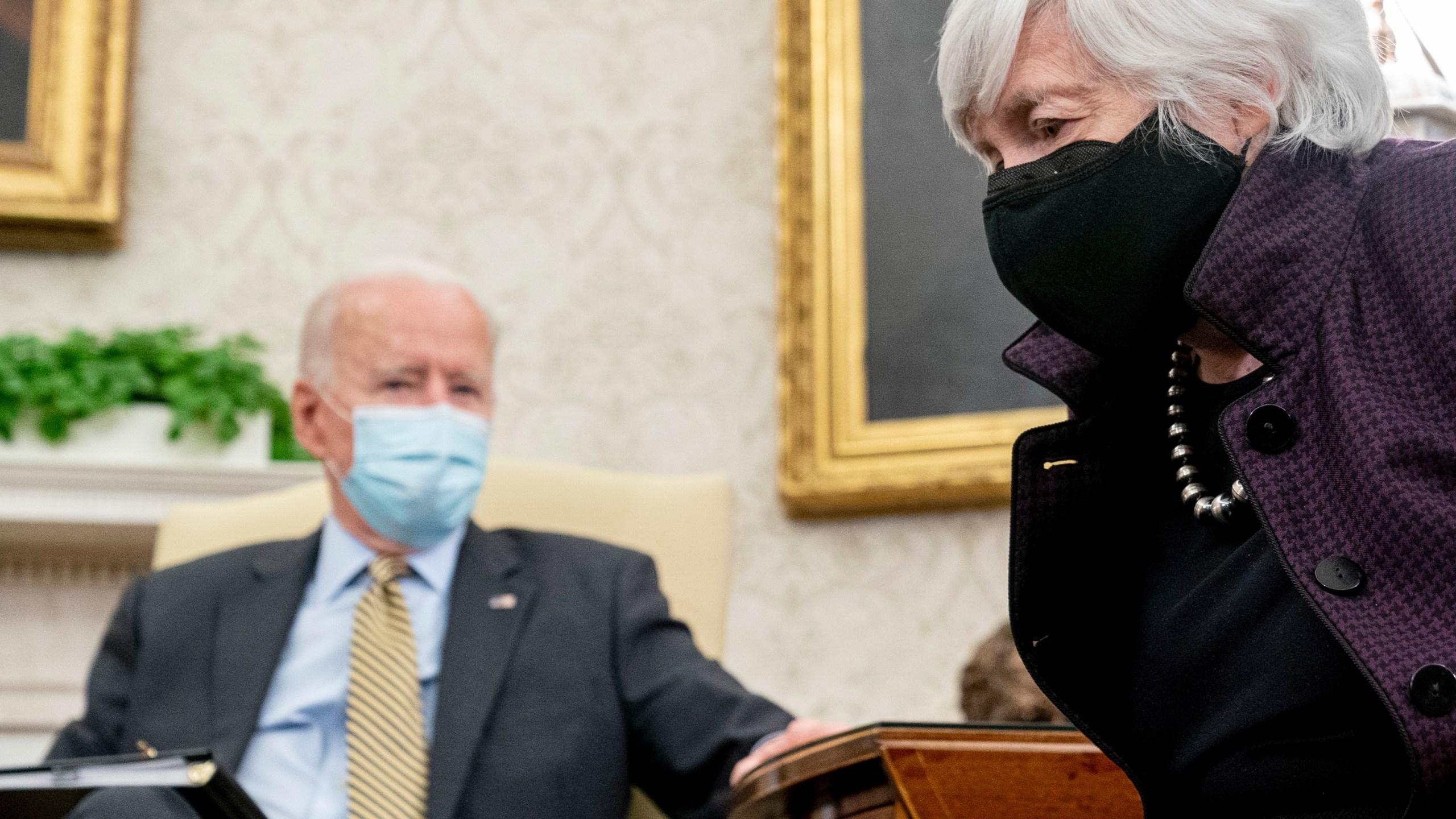 Joe Biden, Janet Yellen
