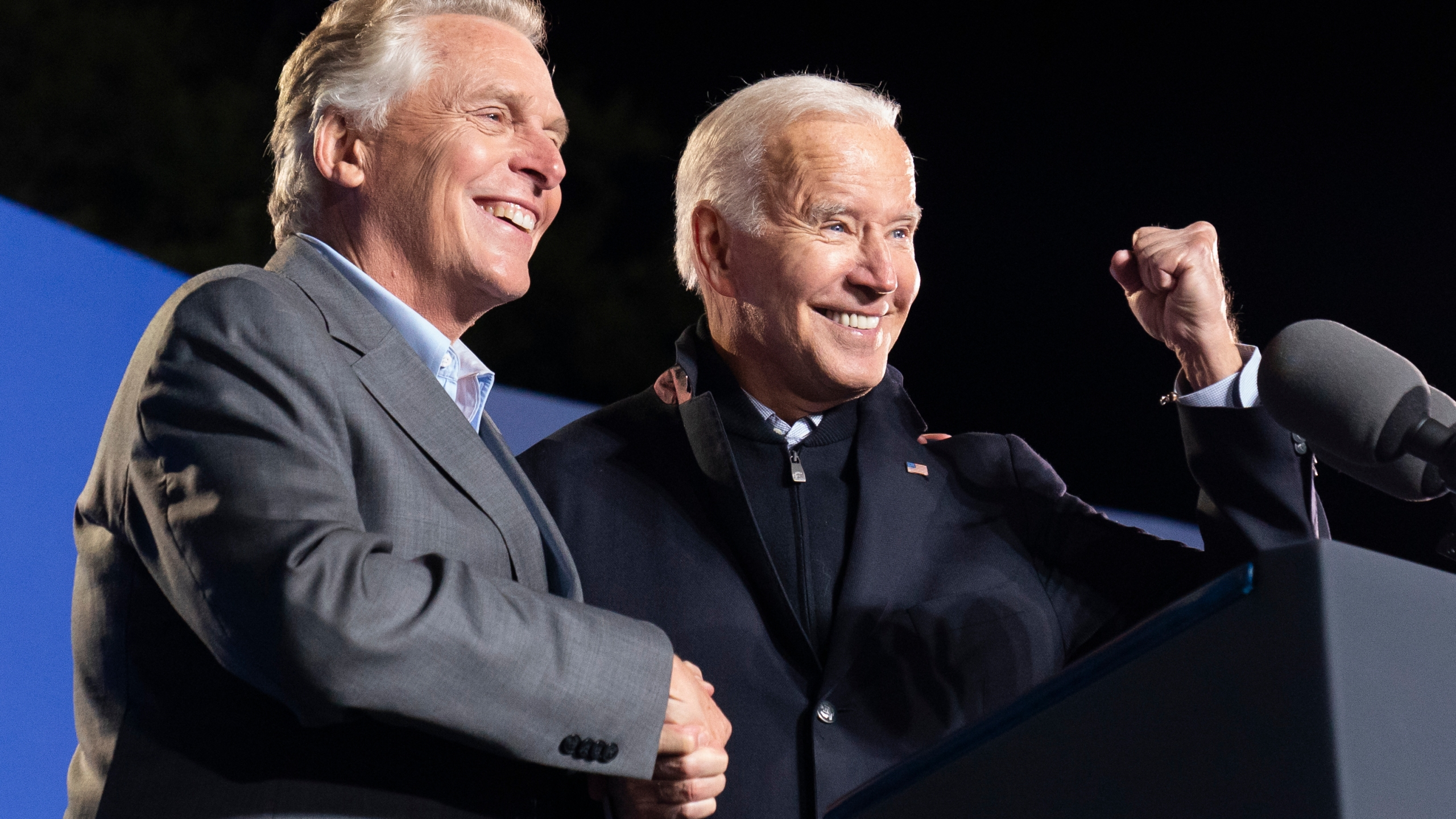 Joe Biden, Terry McAuliffe