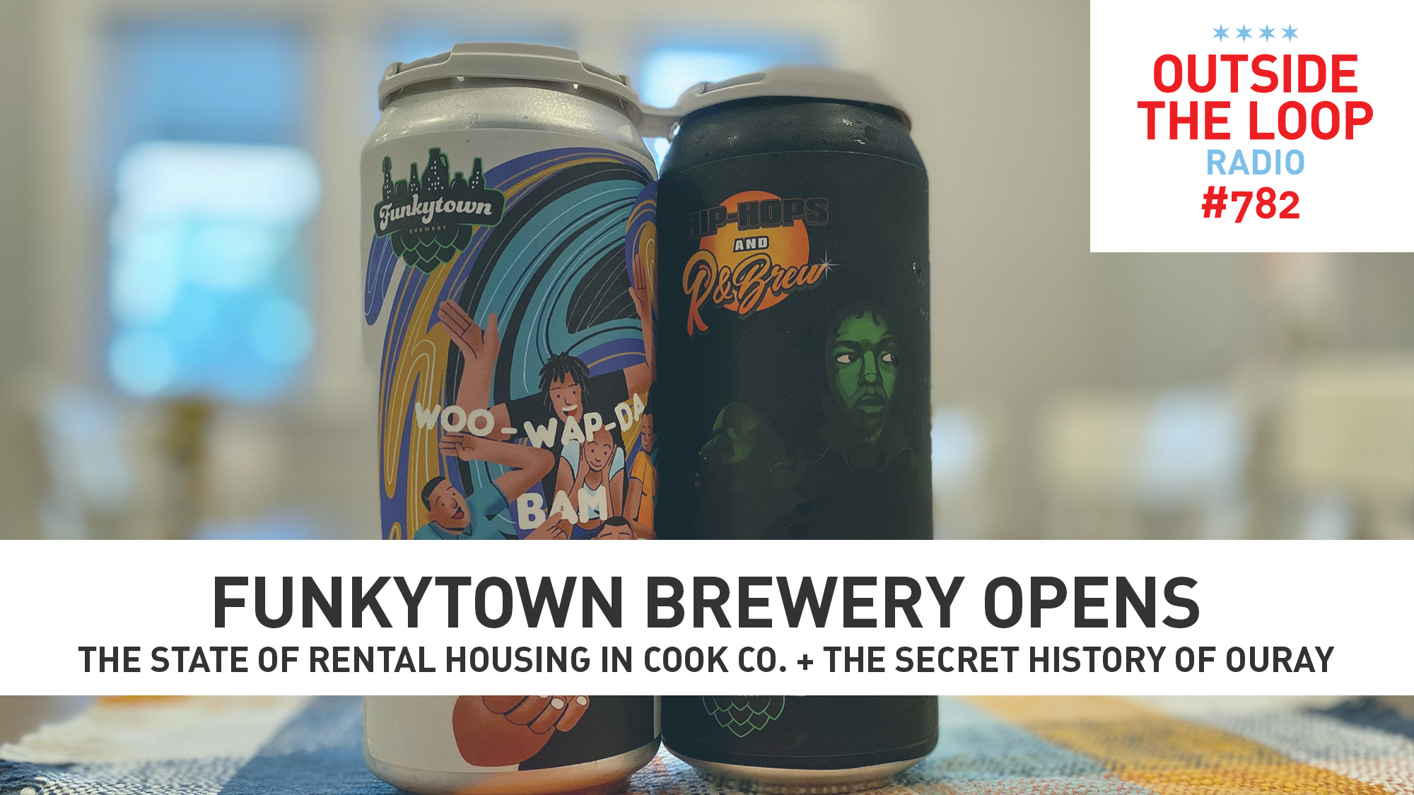 Funkytown Brewery gets funky in Chicago. (Photo credit: Mike Stephen/WGN Radio)