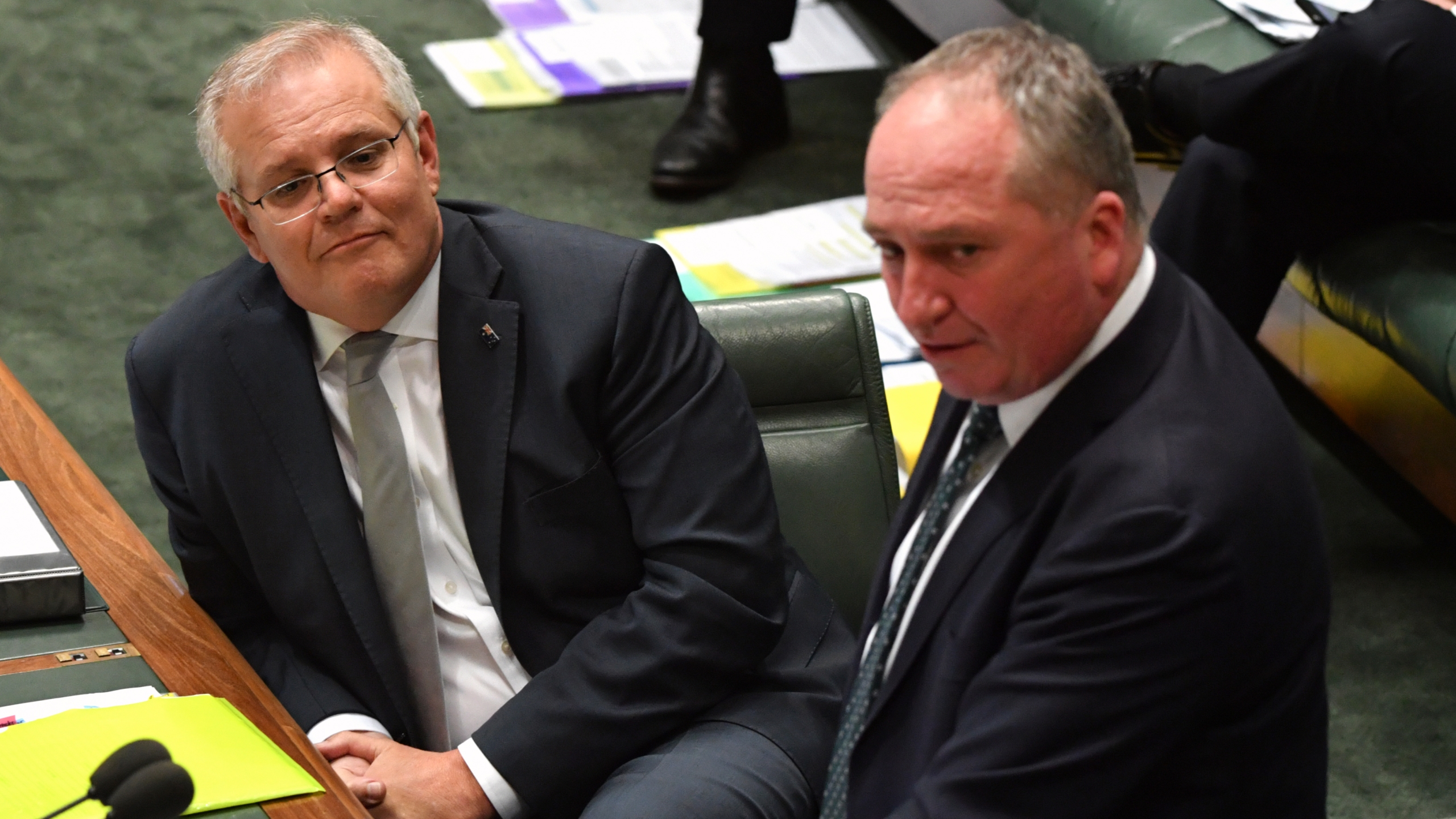 Scott Morrison, Barnaby Joyce