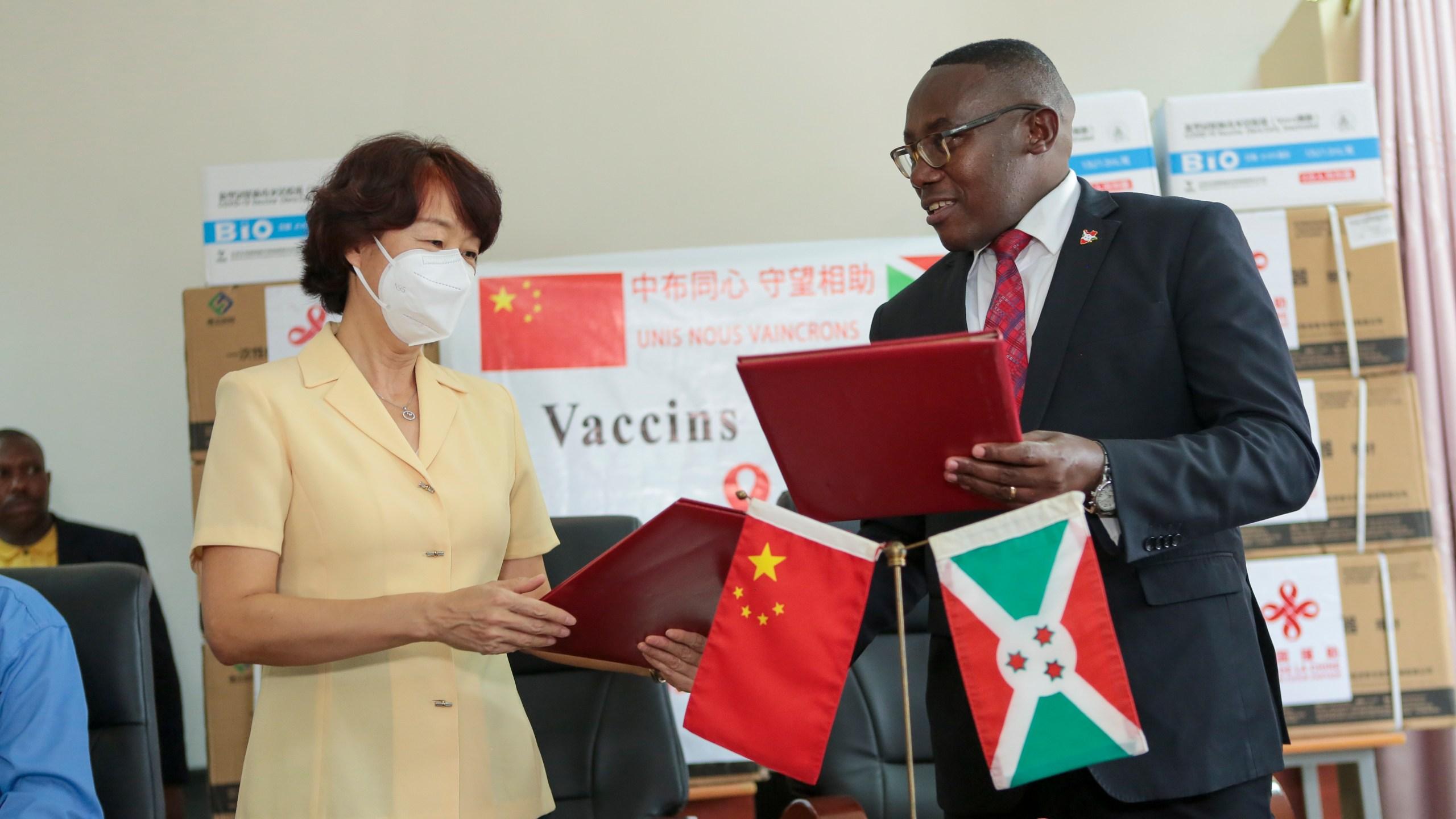 Thaddee Ndikumana, Zhao Jiangping