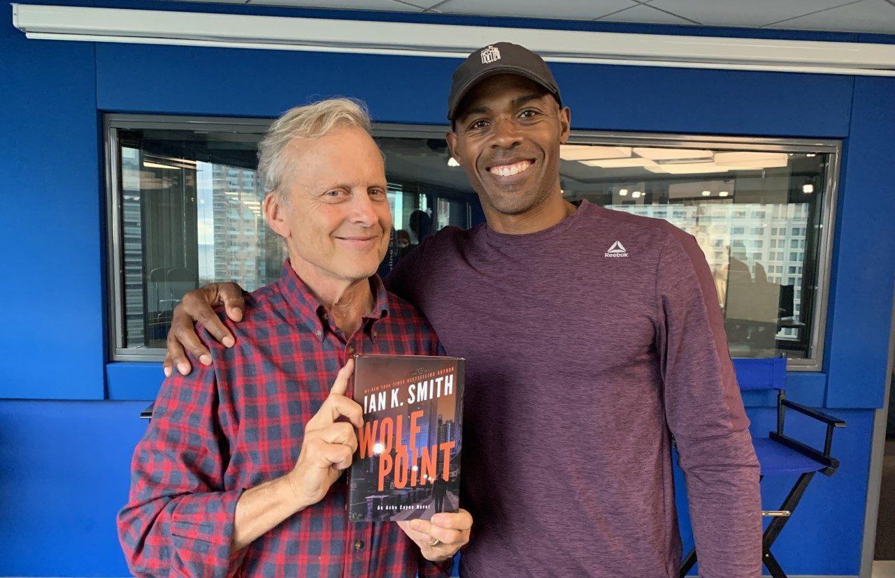 Dr. Ian Smith with Bob Sirott